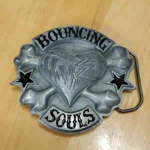 Lucky 13 Bouncing Souls Belt Buckle Punk